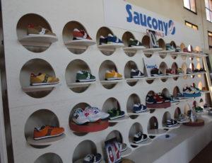 Allestimento Saucony Original SS 16